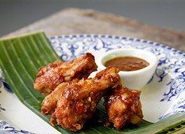 Aile de poulet thaïandais