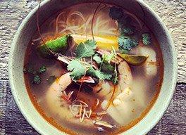 Soupe Tom Yam Gung