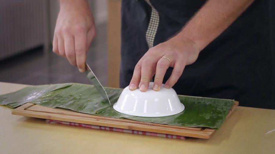 Comment faire des paniers en feuille de bananier