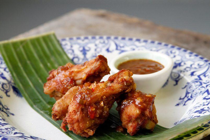 Recette ailes de poulet Thaï épicées
