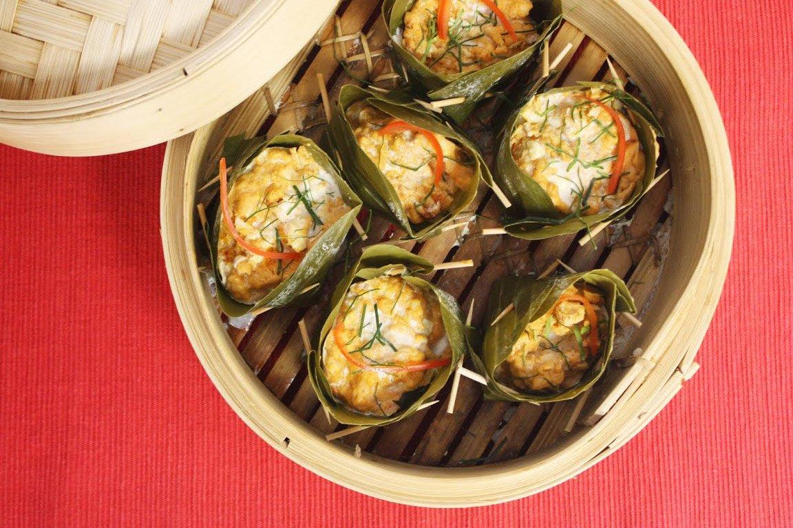 recette poisson en feuilles de bananier thaï | chef jevto bond