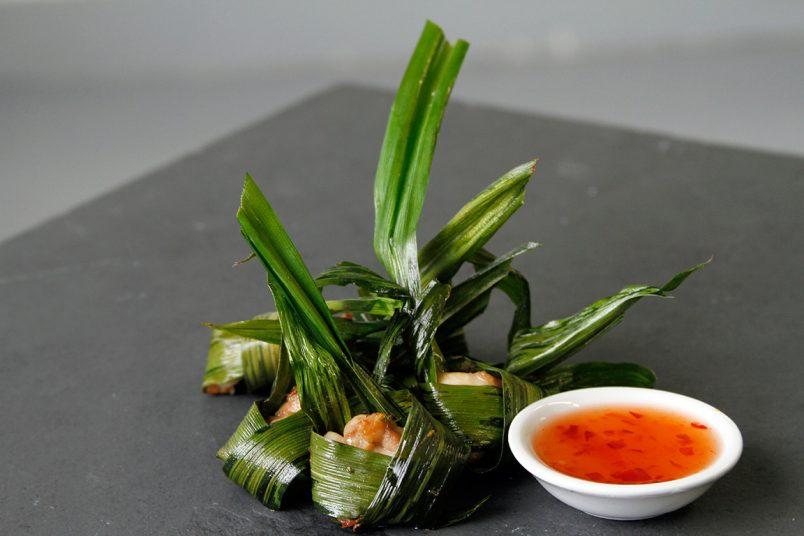 Recette poulet en feuille de Pandan Thaï