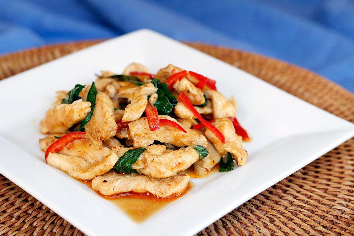 Recettes thailandaises poulet for Recette poulet