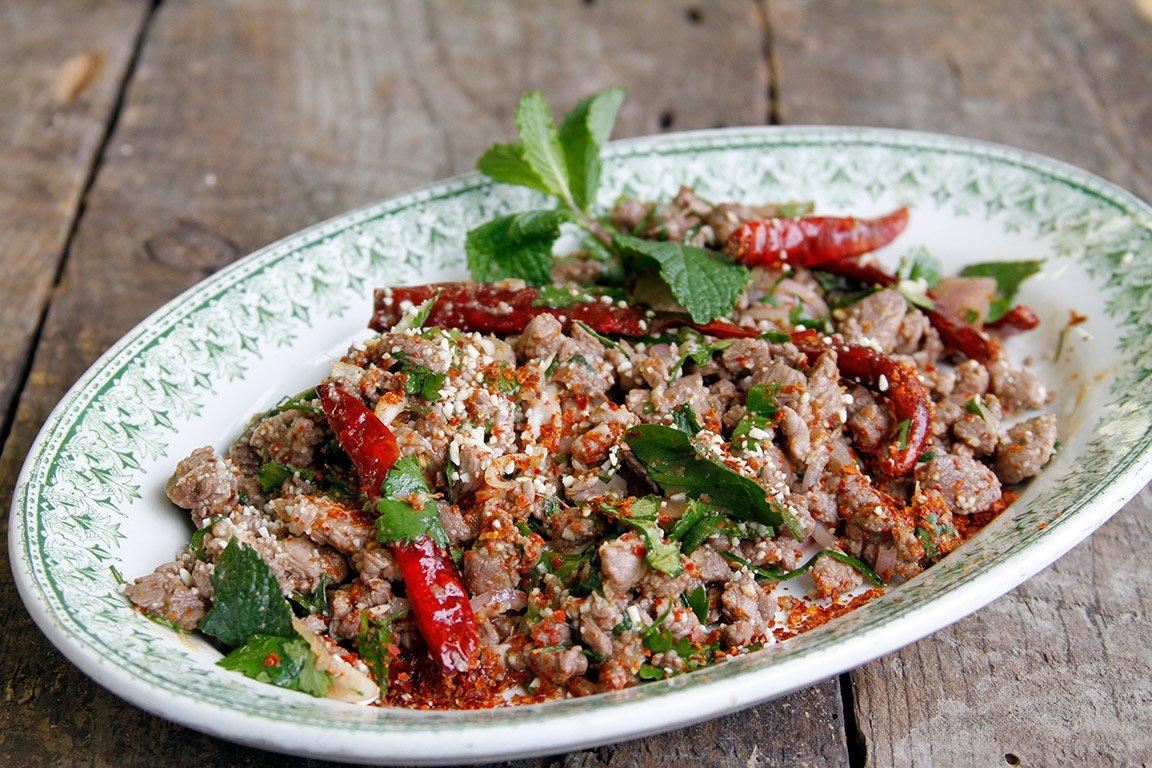 Recette salade de canard tha au lime kaffir jevto bond for Cuisine thailandaise