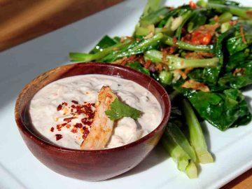 Recette de sauce au crabe thai
