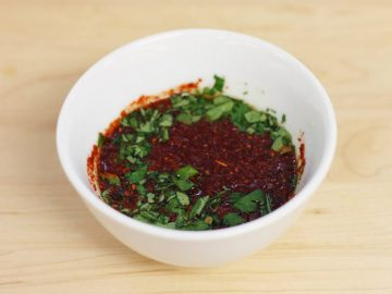 Recette sauce Thaï épicée poudre de chili