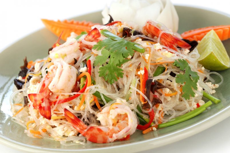Recette vermicelles tha aux fruits de mer jevto bond - Recette cuisine thailandaise ...