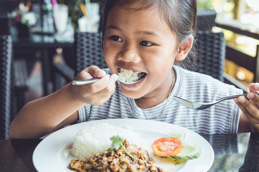 L'étiquette à table en Thaïlande