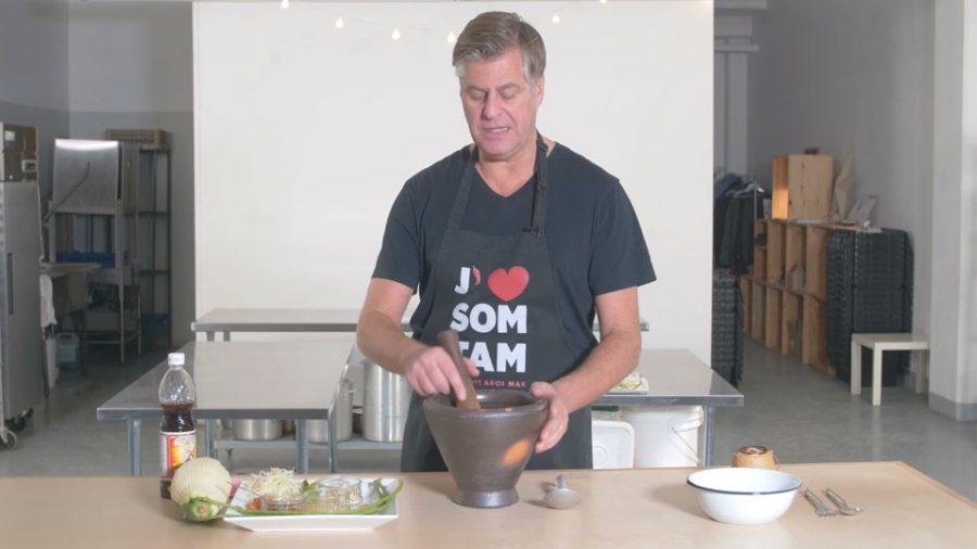 Comment faire une salade de papaye verte thaï