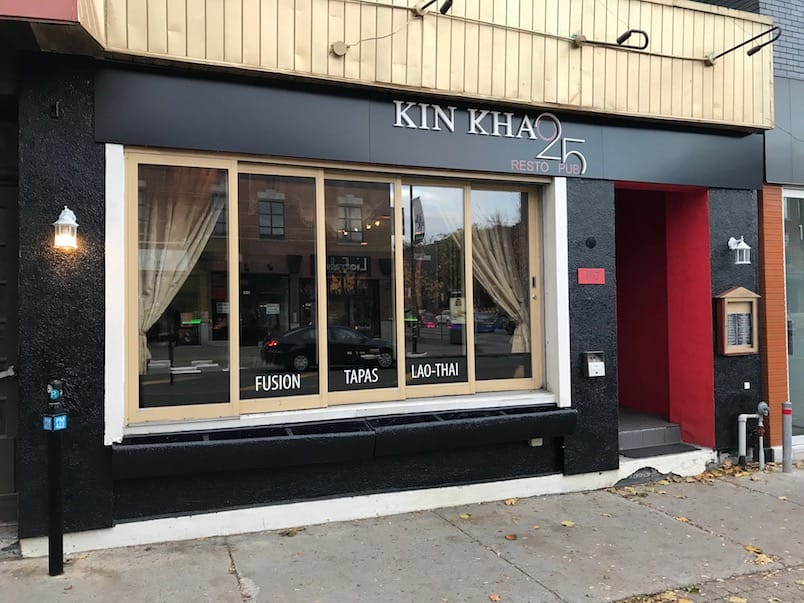 Kin Khao 25 restaurant thaï