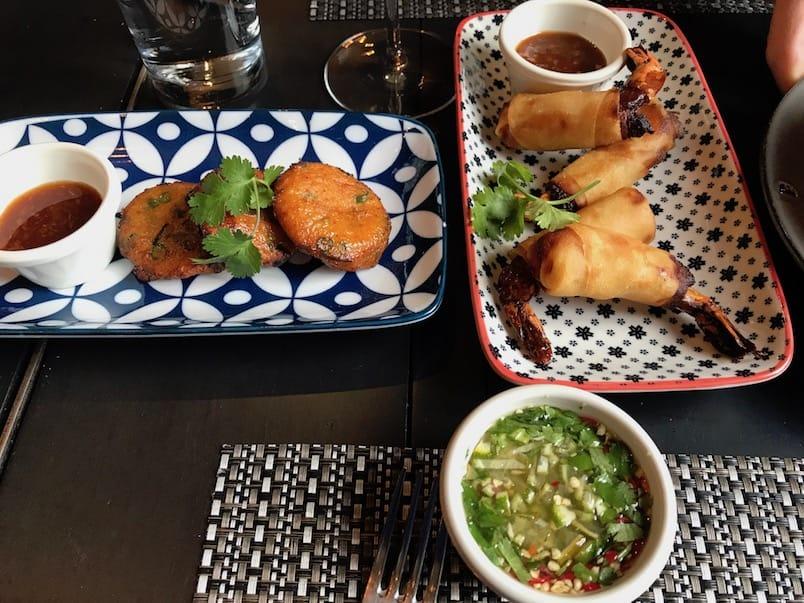 Cuisine thaï à l'auberge Saint-Gabriel