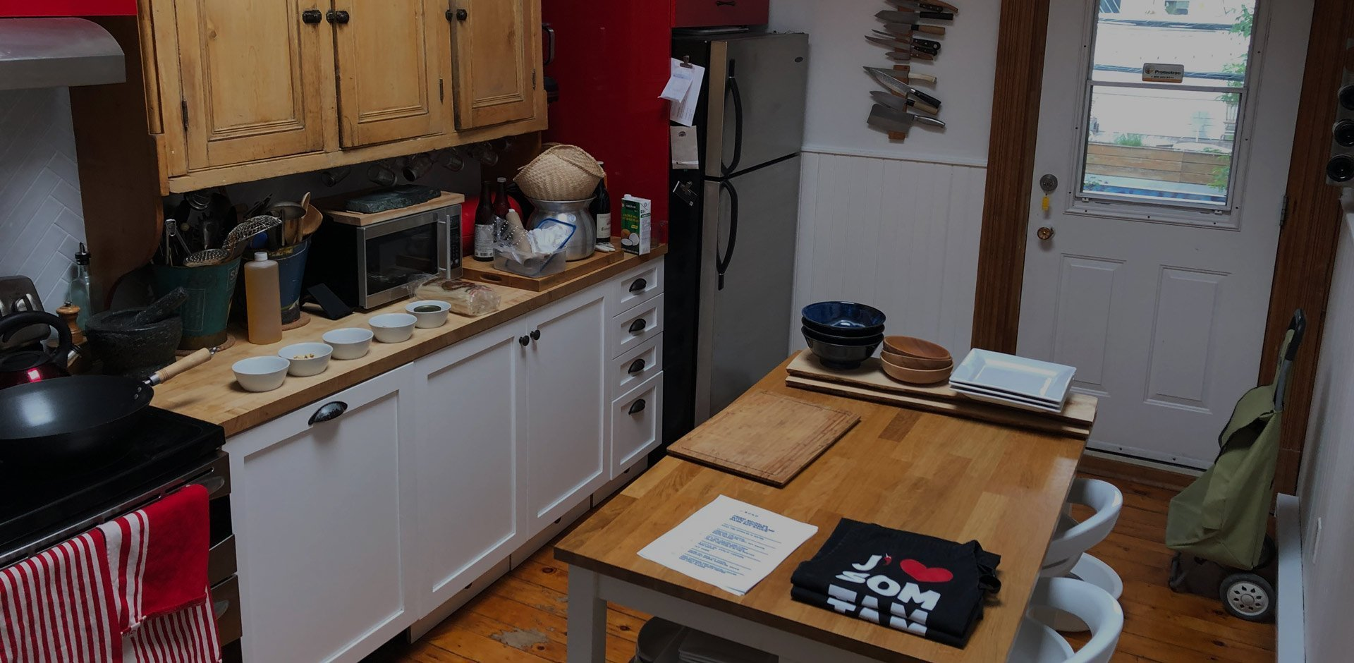 Cours de cuisine privé