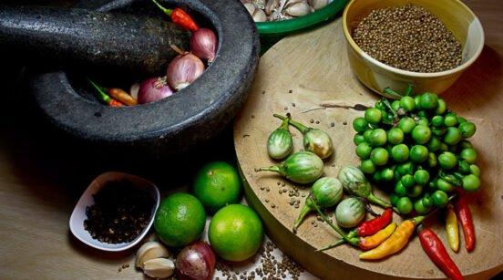 Cours de cuisine thai privé
